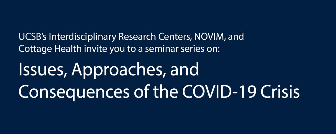 The COVID-19 Crisis Seminars